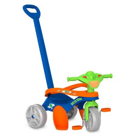 Triciclo Mototico Passeio e Pedal Azul - Bandeirante