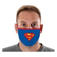 Máscara Proteção Logo Superman Adulto - Sulamericana
