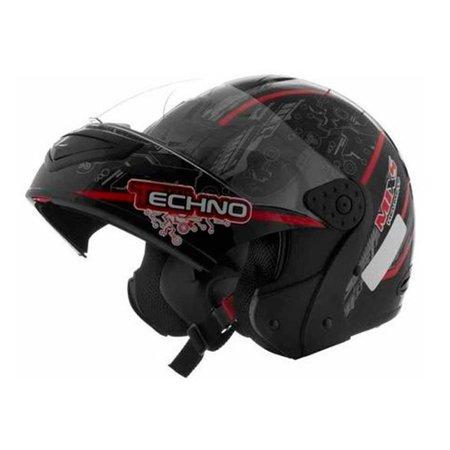 Capacete Mixs Helmets Gladiator Tecno Tamanho 60