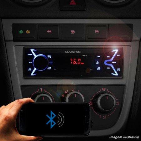 Som Automotivo Multilaser Pop Bluetooth MP3 FM USB P3336