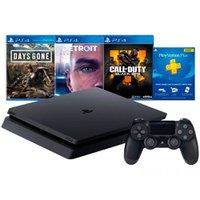 Playstation 4 Slim 1 TB Hits Bundle V5.1 mais 3 Jogos