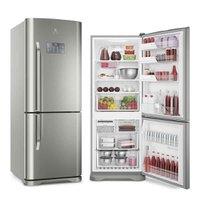 Refrigerador Electrolux Bottom Freezer Inverter 454L Inox 220V IB53X