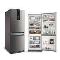 Refrigerador Brastemp Frost Free Inverse 443L Inox 110V BRE57AK