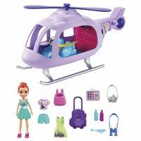 Boneca Polly Pocket Helicóptero de Aventura - Mattel