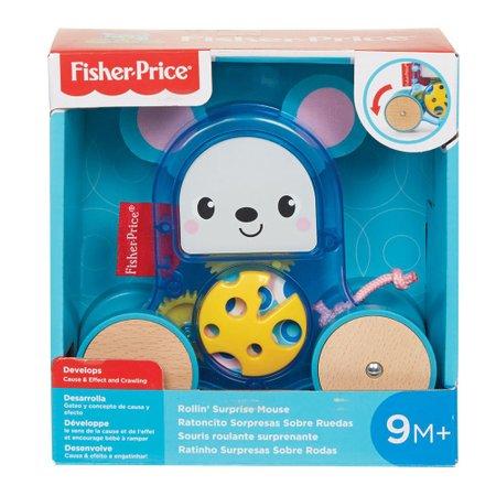 Fisher-Price Ratinho Surpresas Sobre Rodas - Mattel