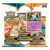 Pokémon Escuridão Incandescente Blister Triplo Hatenna-Copag