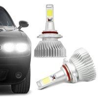Kit Lâmpada Super LED 2D Headlight HB4 6000K 12V 24V 35W 6400LM Efeito Xênon Carro Moto Caminhão