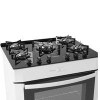 Fogão de Piso Suggar Max Cook 5 Queimadores Branco  FGV502BR