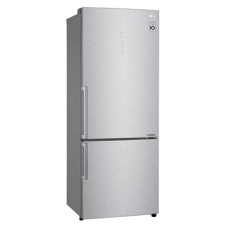 Geladeira LG Bottom Freezer Universe 451 Litros Inox  GC-B659BSB