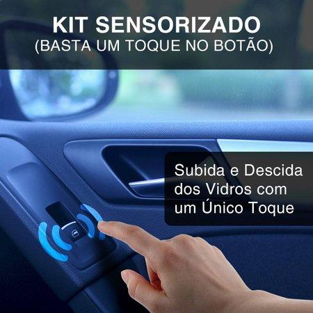 Kit Vidro Elétrico Hyundai HB20 Hatch Sedan 2012 A 2018 Sensorizado 4 Portas Completo
