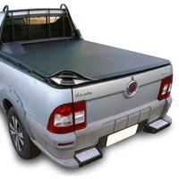 Capota Marítima Fiat Strada Cabine Simples 1998 A 2013 Modelo Baguete Para Grade Gancho E Estepe