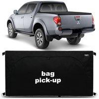 Bolsa Para Caçamba Pick-Up L200 Triton 2008 a 2019 Preto 360 Litros Tamanho M Capacidade 50Kg