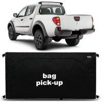 Bolsa Para Caçamba Pick-Up L200 Outdoor 2007 a 2018 Preto 360 Litros Tamanho M Capacidade 50Kg