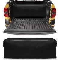 Bolsa Para Caçamba Pick-Up 216 Litros Capacidade 30Kg Tamanho P Preta Universal com Zíper Duplo