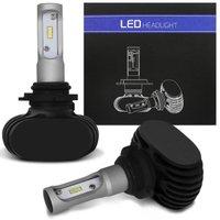 Par Lâmpadas Ultra LED HB4 9006 6000K 12V 36W 8000LM Efeito Xênon Aplicação Farol Carro com Reator
