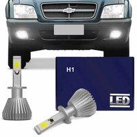 Kit Lâmpadas Super LED Headlight S10 01 02 03 04 05 06 07 08 09 10 11 Farol de Milha H1 6000K