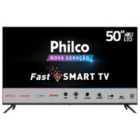 "Smart TV Philco 50"" PTV50G70SBLSG 4K LED - Netflix"