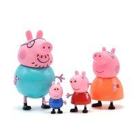 Família Peppa Pig 4 Figuras - Sunny