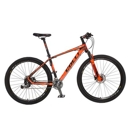 Bicicleta Colli F11 Kit Alivio Shimano Aro 29 Freio hidráulico Quadro 17'' 27V Alumínio Laranja - Colli Bike