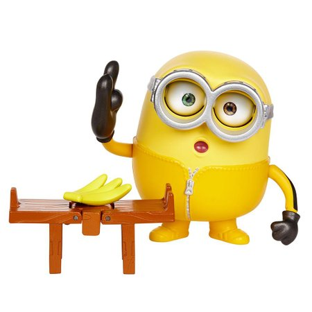 Figura Minions Barulhentos e Bagunceiros Bob - Mattel