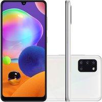 Smartphone Samsung Galaxy A31 Tela 6.4 128GB Dual Chip 4GB RAM Android 10