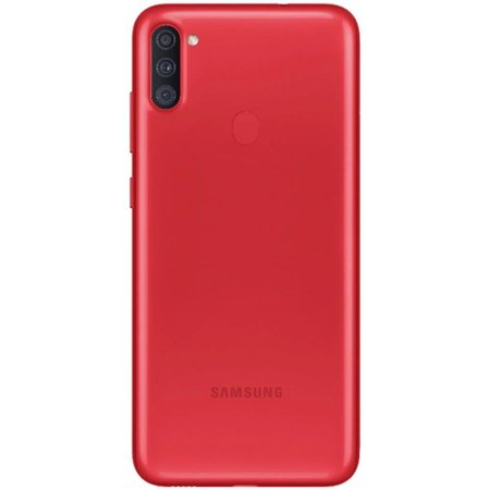 Smartphone Samsung Galaxy A11 Tela 6.4 Android 64GB - Vermelho