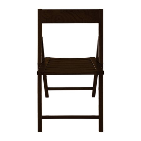 Cadeira Tramontina Rimini Fold Dobrável de Madeira Jatobá Tabaco