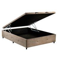 Box Casal com Baú Fit-Sono Design - Marrom