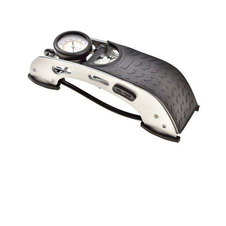 Bomba de Ar Pedal Premium Alta Pressão Brasfort