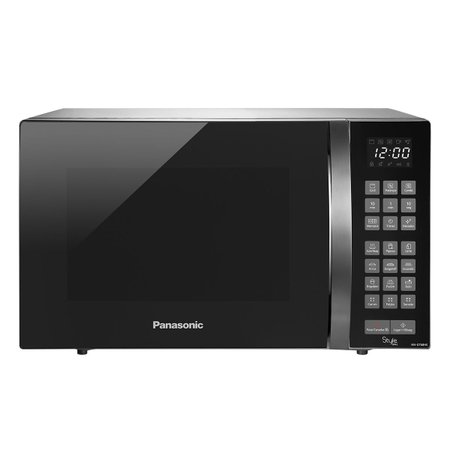 Micro-ondas Panasonic Style Grill 30L Timer Inox 110V NN-GT68HSRUN