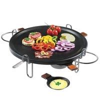 Raclette-Grill Antiaderente 37cm Racleteira Fondue Réchaud 9 Peças