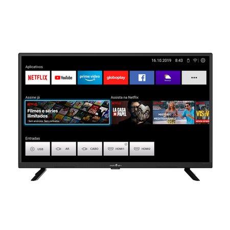 "Smart TV Britânia 32"" LED BTV32G52S - Netflix"