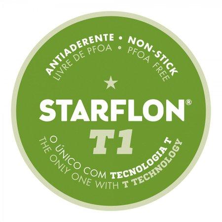 Jogo de Panelas Tramontina Loreto Revestimento Interno e Externo Antiaderente Starflon Grafite 7 pçs Tramontina