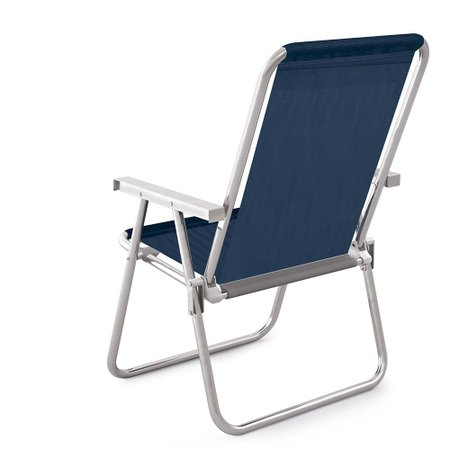 Cadeira Alta Conforto Alumínio Sannet - Azulmari