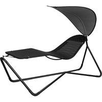 Cadeira Lounge com para-sol Saint-Martin