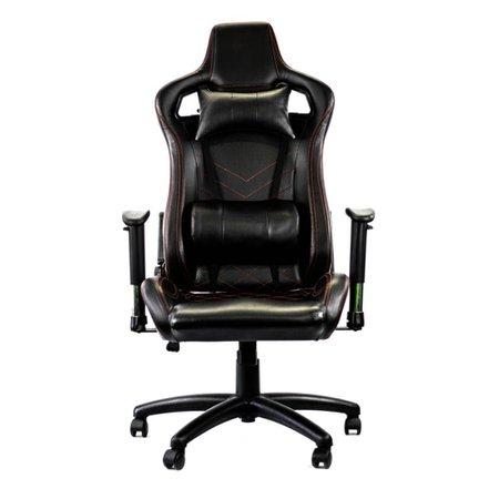 Cadeira Gamer Racer Giratória Gallant Altura Regulável Preta e Vermelha GCD100RPUA-PT