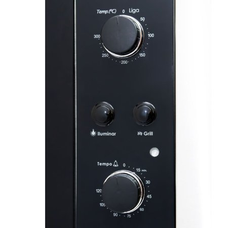 Forno Elétrico de Embutir Fogatti F450 Black 45L 220V 10052141