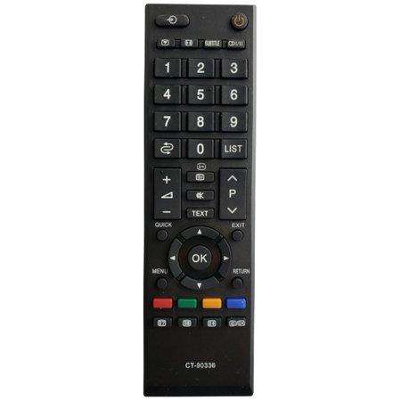 Controle Toshiba TV LED LCD CT-90336 026-9036 C01214