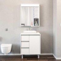 Conjunto para Banheiro Lucca - Politorno - Branco