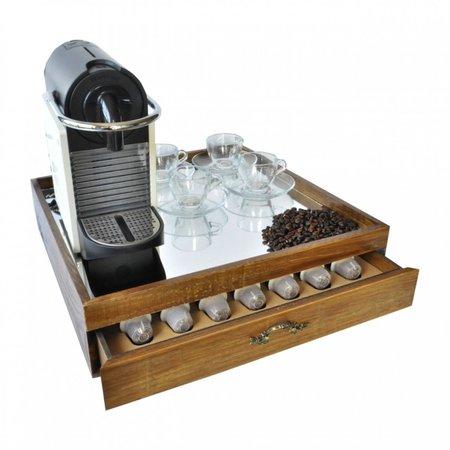 Caixa para Máquina e Cápsulas Nespresso