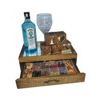 Caixa de Madeira para Especiarias Gin