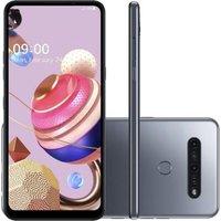 Smartphone LG K51S 64GB Tela 6.55` 2.0GHz 4G Câmera 32MP+5MP+2MP+2MP - Titânio