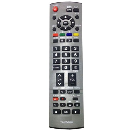 Controle Panasonic Viera Plasma Th-42Pv70Lb C01175