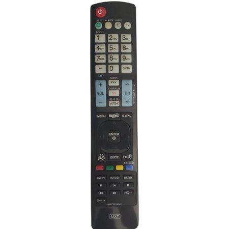 Controle Tv Lg Lcd 3D AKB72914245, AKB73275646, AKB73615319, AKB74115501 C01168