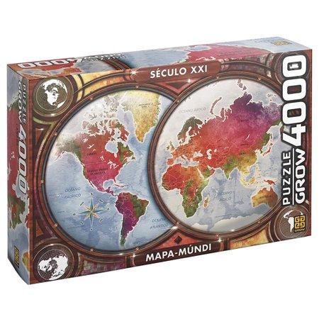 Puzzle 4000 peças Mapa-Múndi