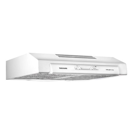Depurador de Ar Suggar Vênus Biturbo, 80 cm, 3 Velocidades, 87W, Branco