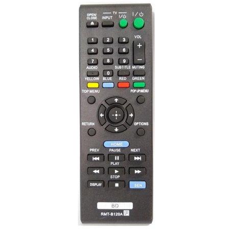 Controle Dvd Blu-Ray Sony Rh1-B120A Bdp-S1100, Bdp-S190, Bdp-S3100, Bdp-S390 - Sky-7474