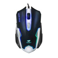 Mouse Gamer C3Tech MG-11BSI 2400 DPI 6 Botões LED Multicores USB Preto/Prata