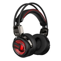 Headset Gamer ADATA XPG PRECOG 7.1 USB Type-C, FPS Mode, ENC, Preto/Led Vermelho