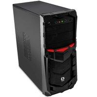 Gabinete Gamer C3tech MT-G50BK Sem Fonte Preto